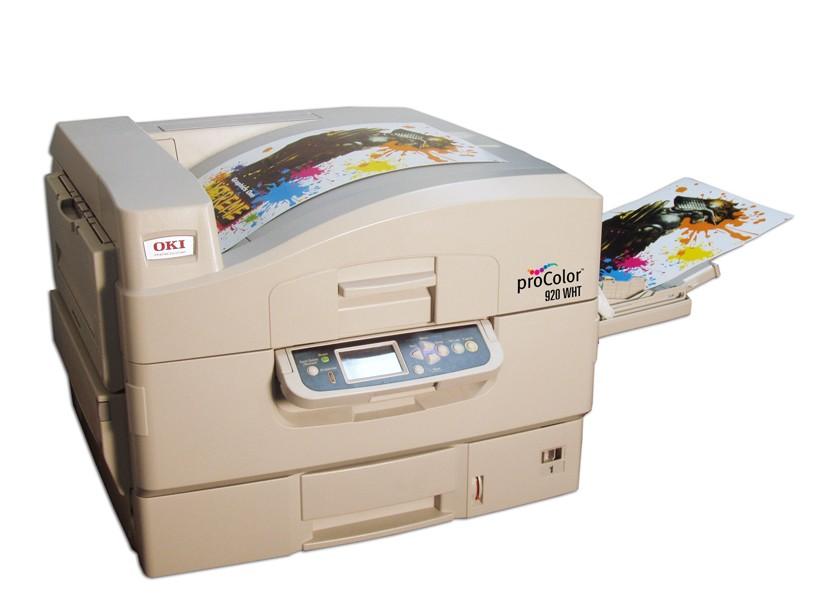 Oki Pro920wt Heat Transfer Printer