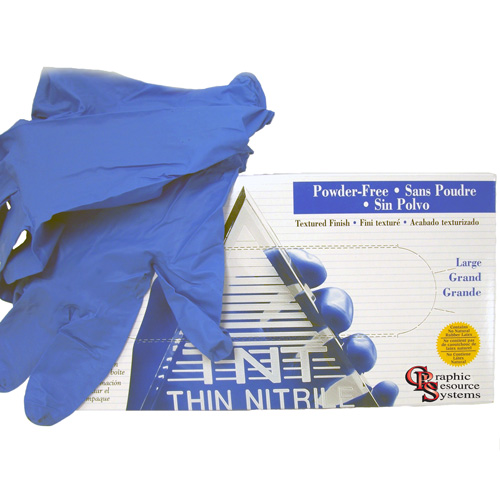 Blue Disposable Gloves Pack of 50 Pairs