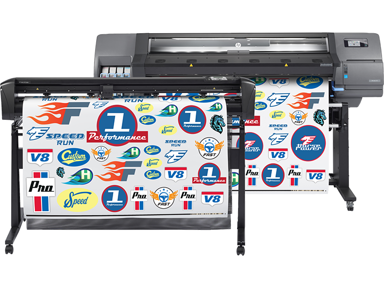 HP L315 Print & Cut 54-inch Solution