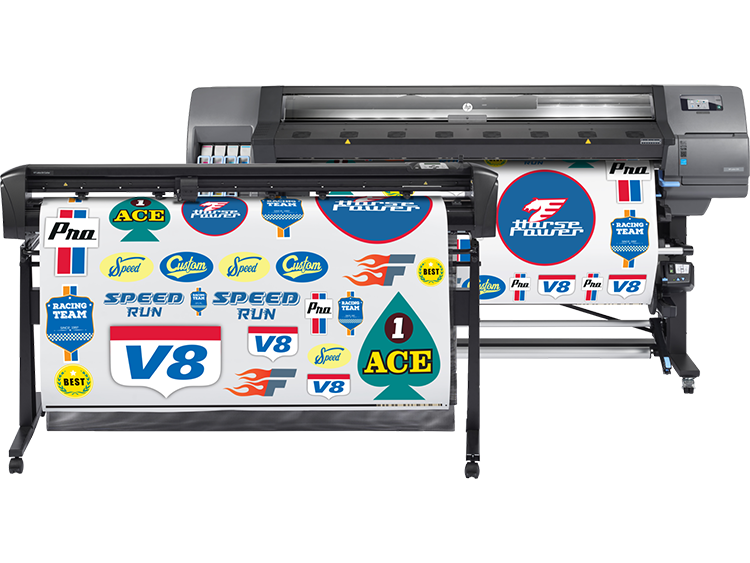 HP L335 Print & Cut 64-inch Solution